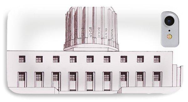 Oregon State Capitol IPhone Case
