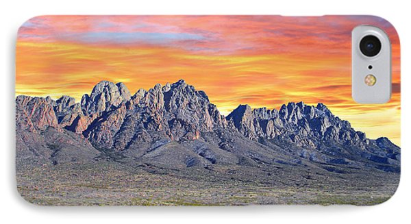 Organ Mountain Sunrise Most Viewed  IPhone Case