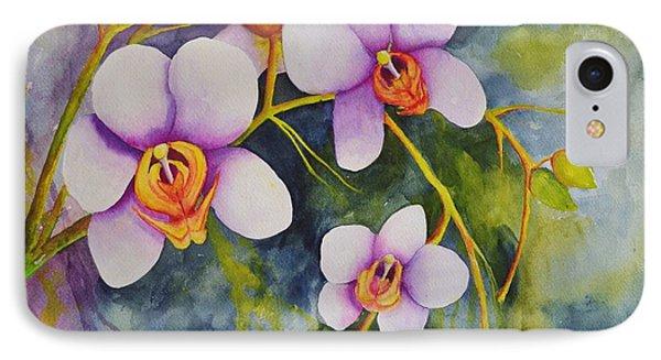 Orchids In My Garden IPhone Case