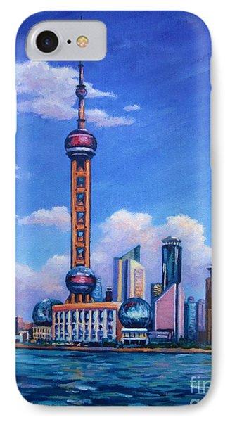 Oriental Pearl Shanghai IPhone Case
