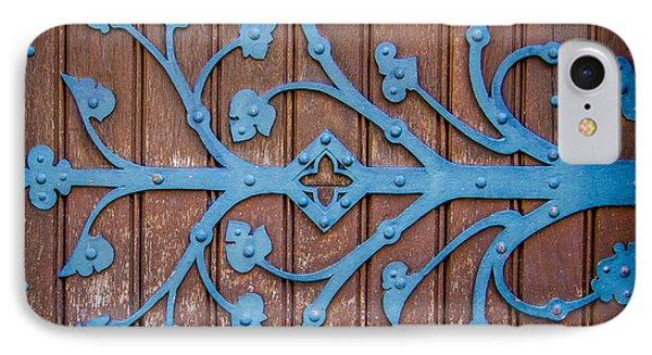 Ornate Church Door Hinge IPhone Case