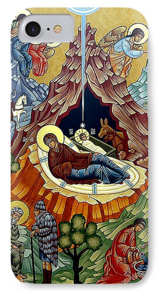 Orthodox Nativity Of Christ IPhone Case