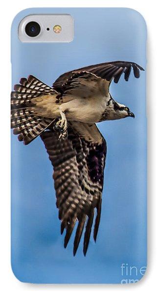 Osprey Flying Away IPhone Case
