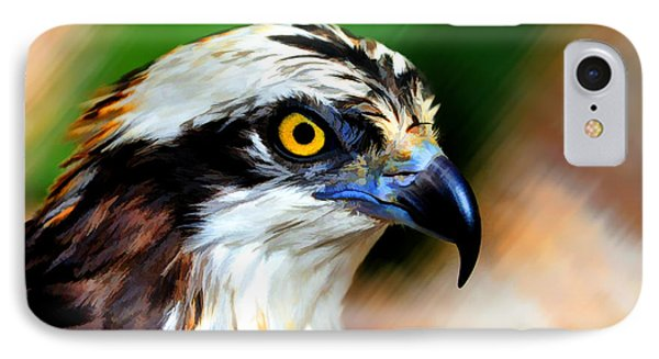 Osprey Portrait IPhone Case