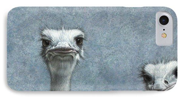 Ostriches IPhone Case