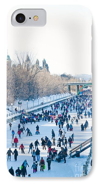 Ottawa Rideau Canal IPhone Case