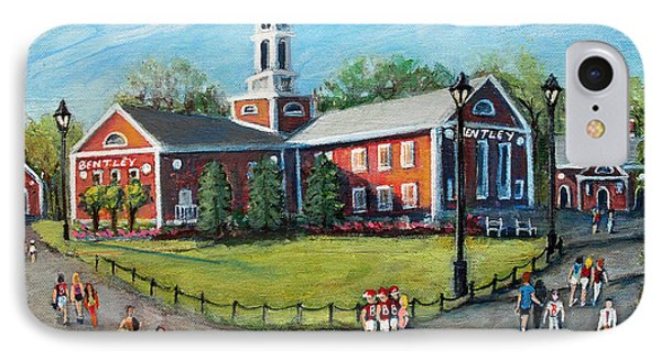 Our Time At Bentley University IPhone Case