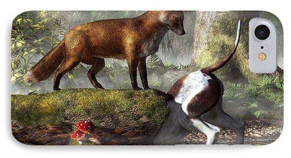 Outfoxed IPhone Case