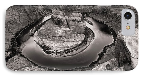 Overcast At Horseshoe Bend IPhone Case