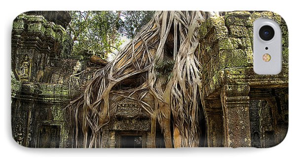 Overgrown Jungle Temple Tree  IPhone Case