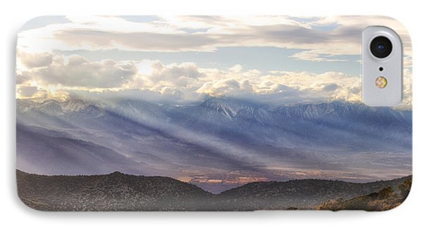 Owens Valley Sunset IPhone Case