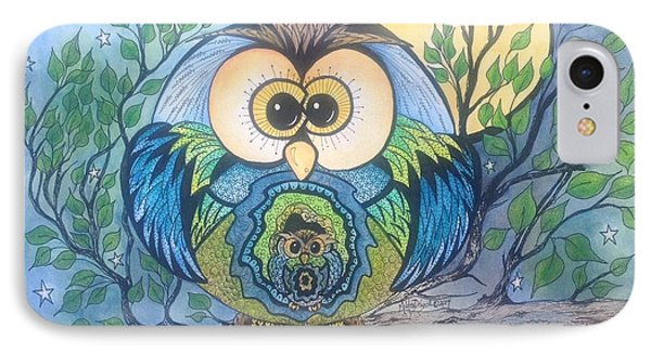 Owl Take Care Of You IPhone Case