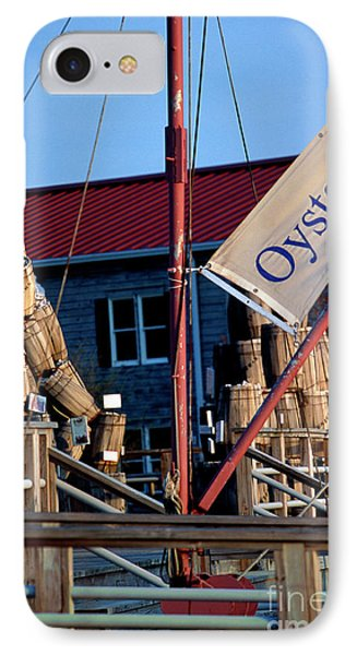 Oystering History At The Maritime Museum In Saint Michaels Maryland IPhone Case