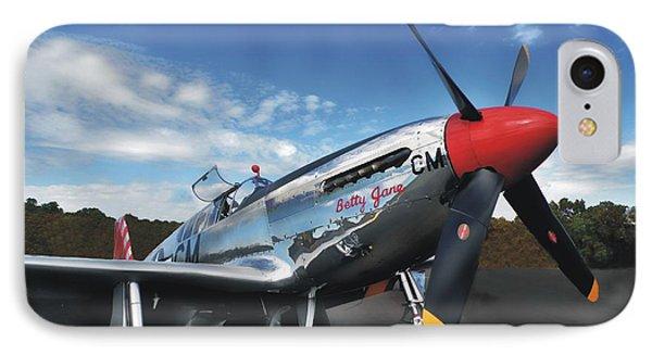 P-51 Mustang Betty Jane IPhone Case