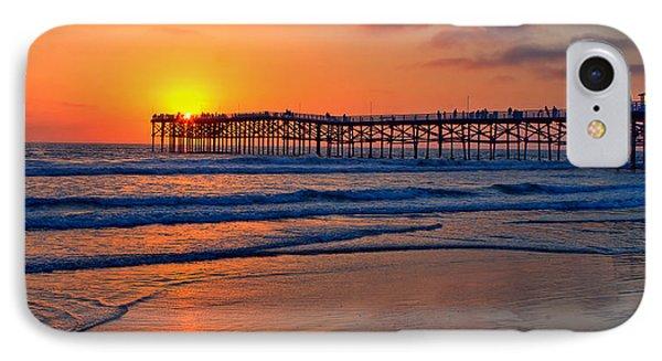 Pacific Beach Pier - Ex Lrg - Widescreen IPhone Case