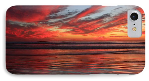 IPhone Case featuring the photograph Oceanside Reflections by John F Tsumas