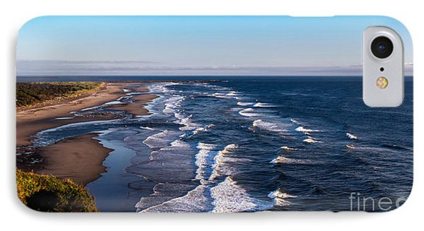 Pacific Ocean And The Columbia River IPhone Case