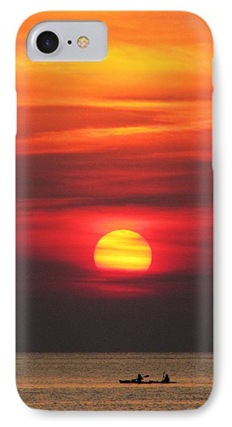Paddling Under The Sun IPhone Case