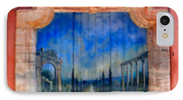 Painted Door In Roussillon IPhone Case