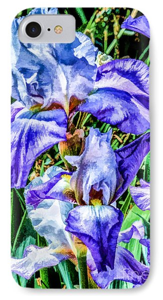 Painted Iris IPhone Case