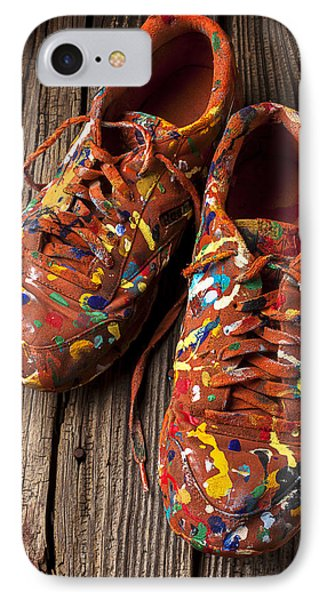 Painted Tennis Shoes IPhone Case