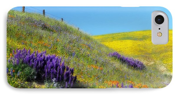 Painted With Wildflowers IPhone Case