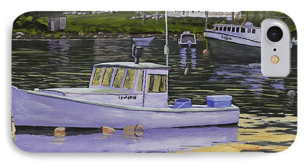 Fishing Boats In Port Clyde Maine IPhone Case
