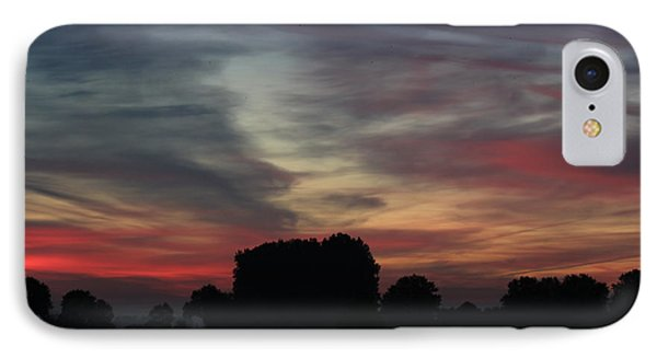 Painting Sunrise By Nature IPhone Case