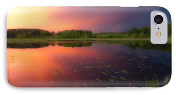 Painting With Stormy Light IPhone Case