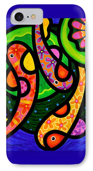 Paisley Pond - Vertical IPhone Case