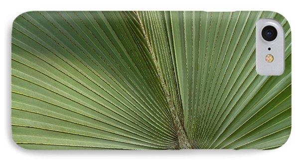 Belize iPhone 8 Case - Palm, Belize Botanic Garden by William Sutton