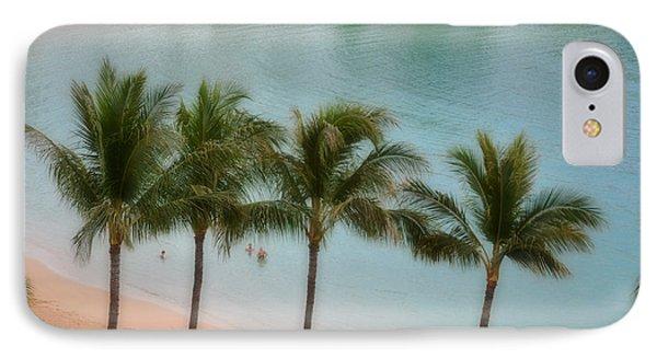 Palm Tree Lagoon IPhone Case