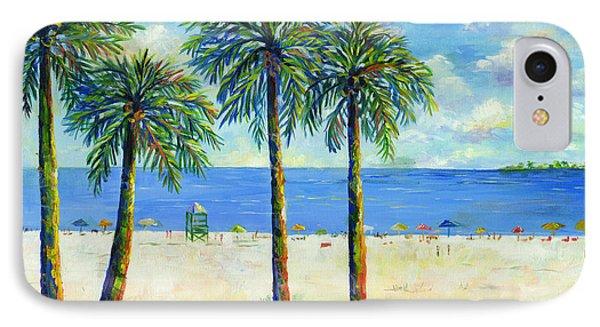 Palms On Siesta Key Beach IPhone Case