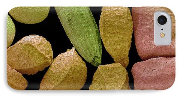 Mustard iPhone 8 Case - Panch Phoran by Steve Gschmeissner