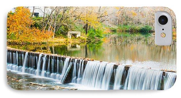 Panorama Of Buck Creek In Autumn IPhone Case