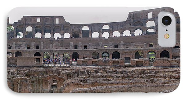Panoramic View Of The Colosseum IPhone Case