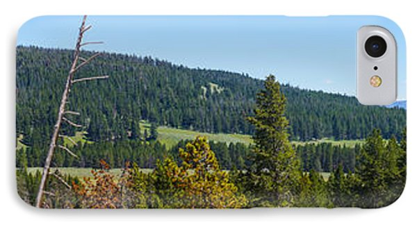Panoramic Yellowstone Landscape IPhone Case