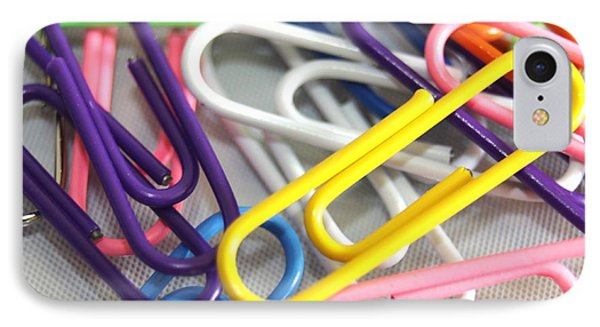 Paperclips IPhone Case