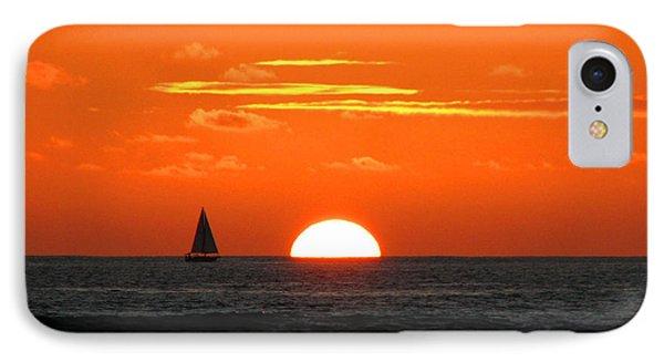Paradise Sunset Sail IPhone Case