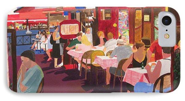 Paris Cafe At Dusk IPhone Case