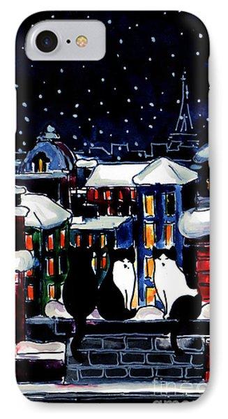 Paris Cats IPhone Case