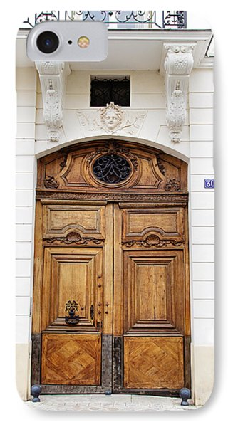 Paris Door - No. 30 - Paris Photography IPhone Case