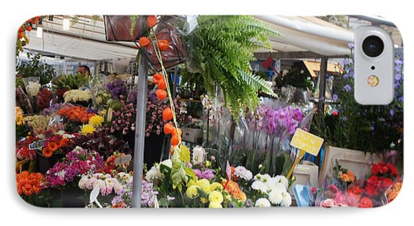 Paris Flower Market IPhone Case