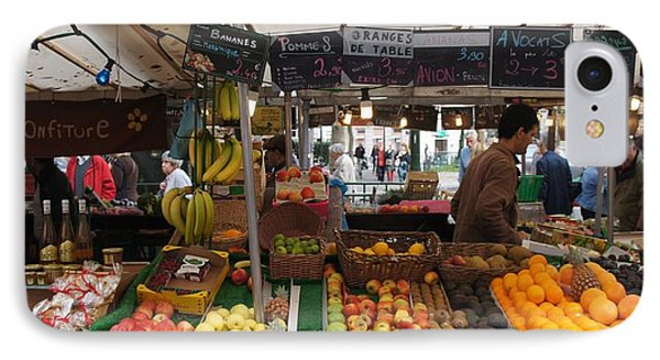 Paris Fruit Market IPhone Case