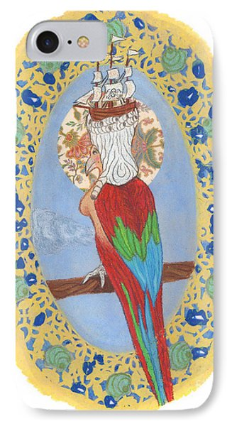 Parrot Girl IPhone Case
