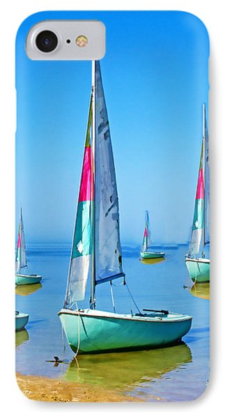 Pastel Sailboats IPhone Case