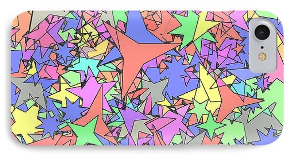 Pastel Stars IPhone Case