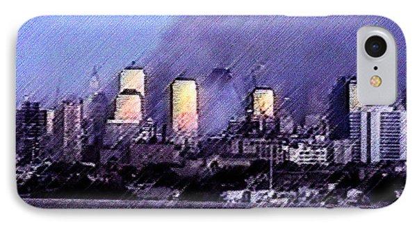 Pastel Sunset On Ground Zero IPhone Case