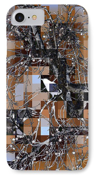 Patchwork Crows IPhone Case
