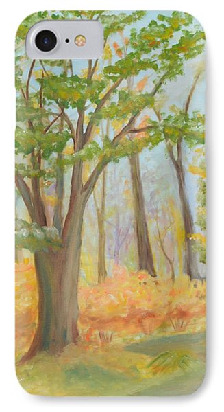 Path Of Trees IPhone Case